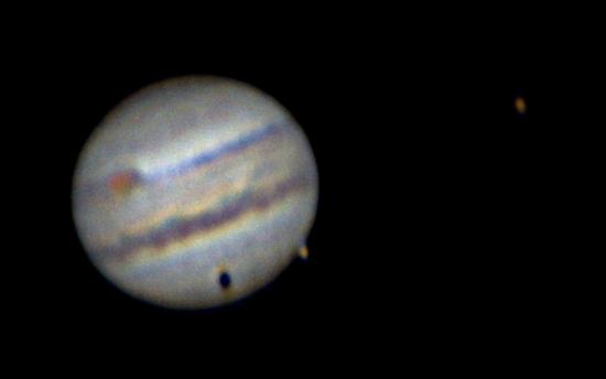 Юпитер + Ганимед (и его тень) + Ио + БКП.