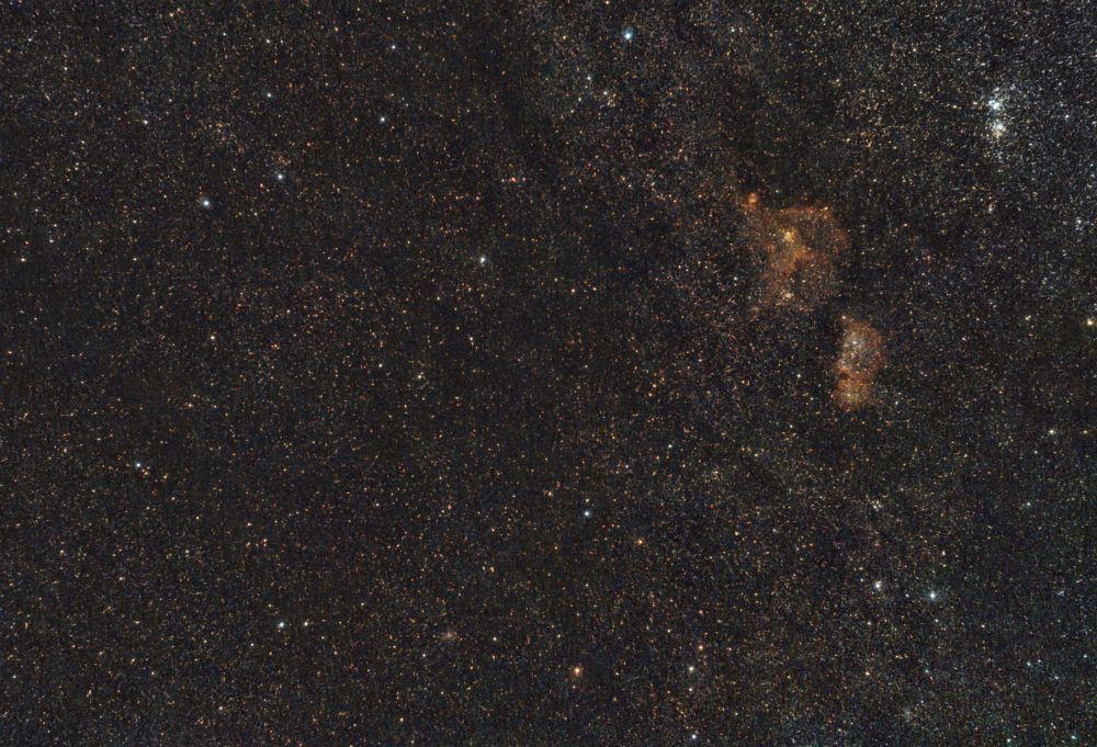 Млечный Путь в Кассиопеи