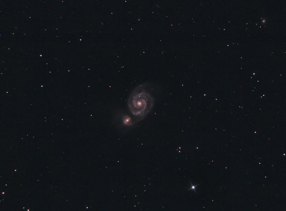 M51 Whirpool & NGC5195