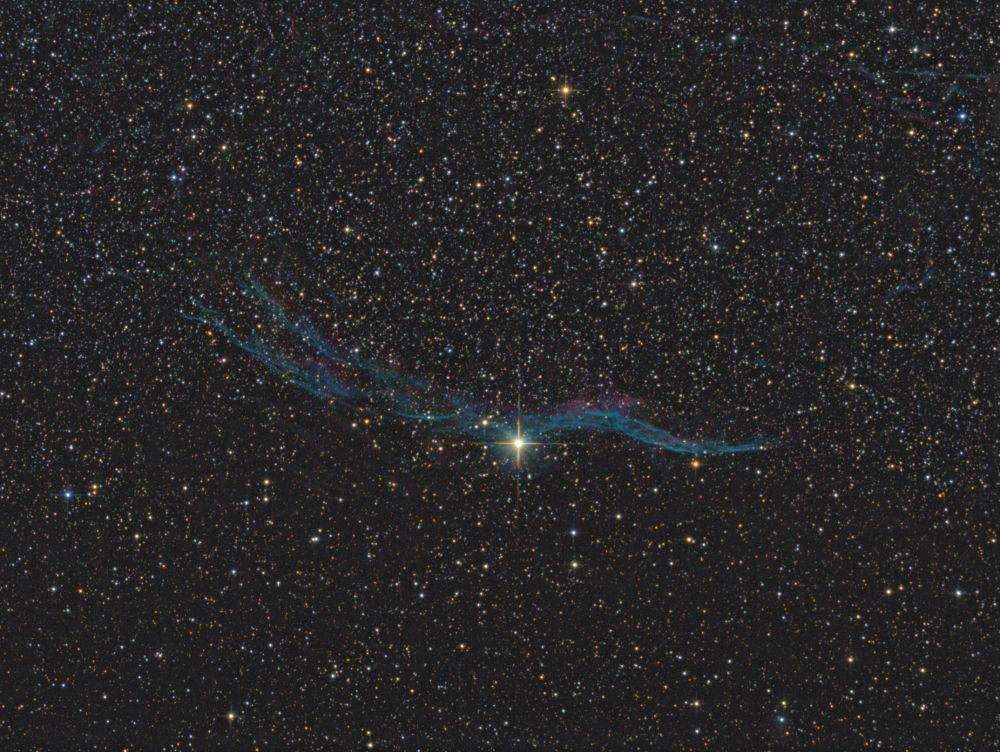 Western Veil Nebula - NGC6960
