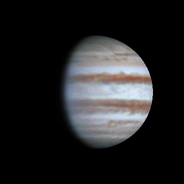 Flying around Jupiter, 2014-03-15, 20:52-21:22
