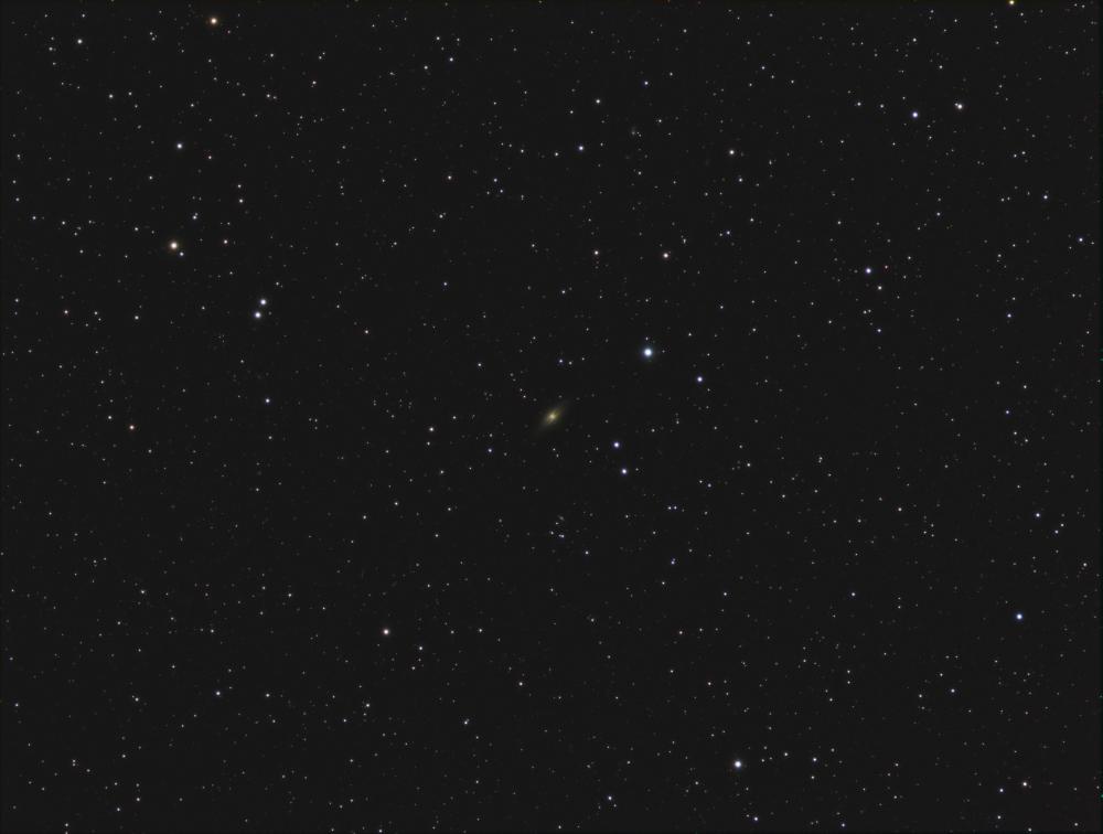 NGC7814 Little Sombrero galaxy RGB