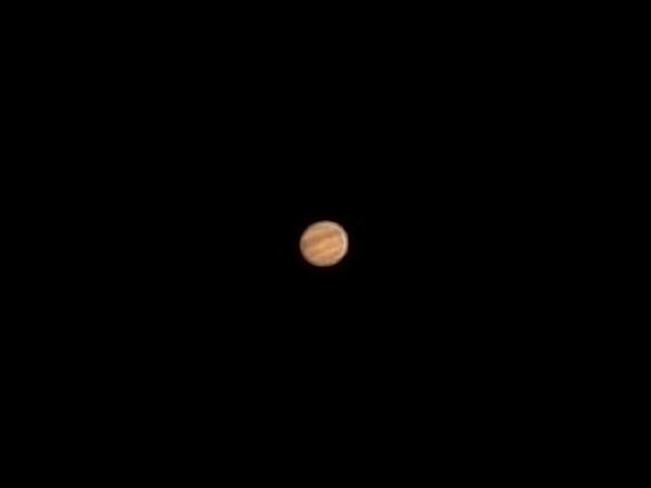 Первое фото Юпитера