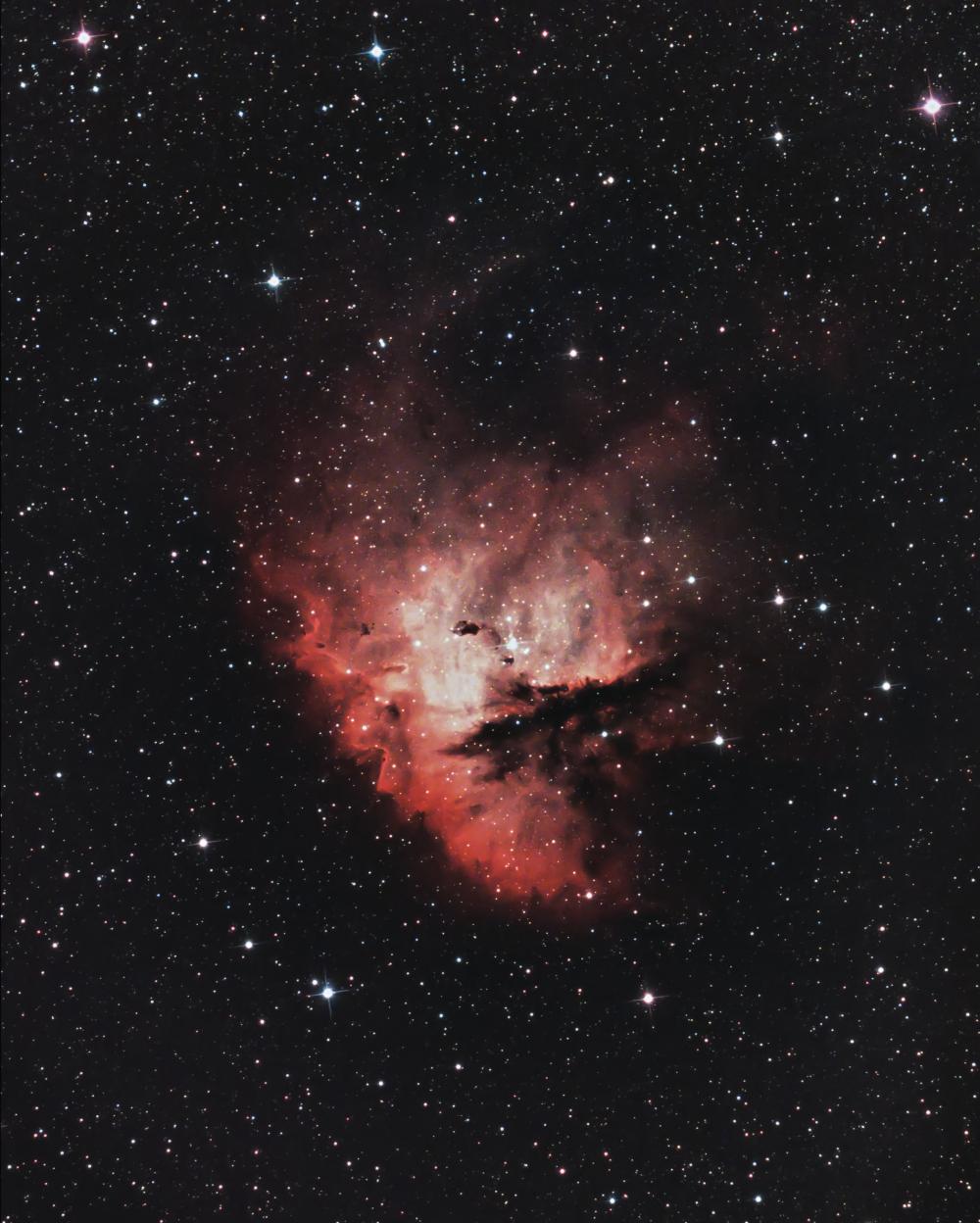 Туманность Пакман (NGC 281)