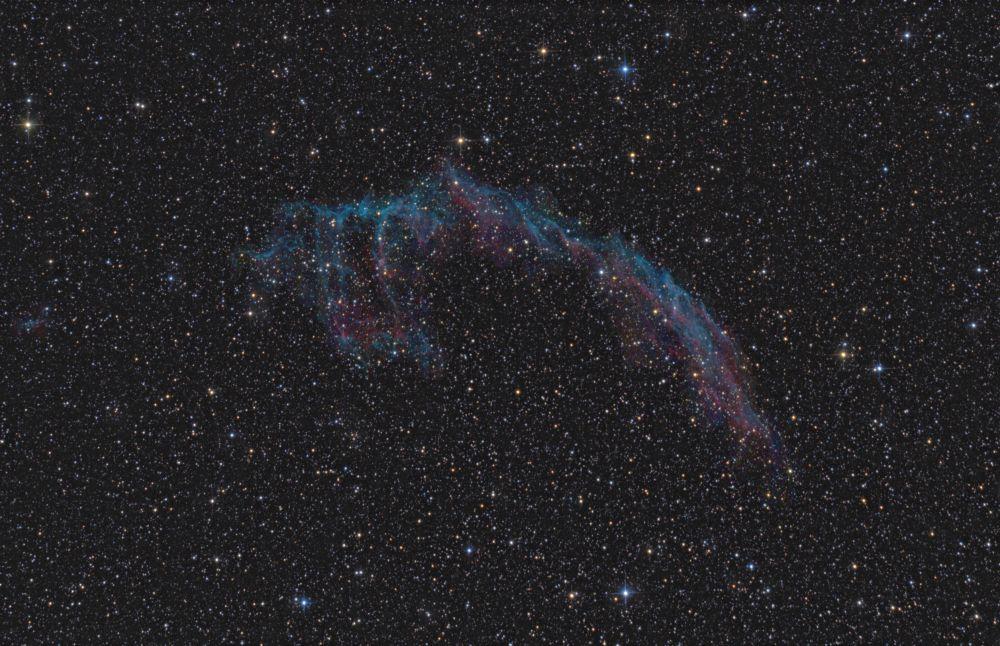 Eastern Veil Nebula - NGC6992, NGC6995, IC1340