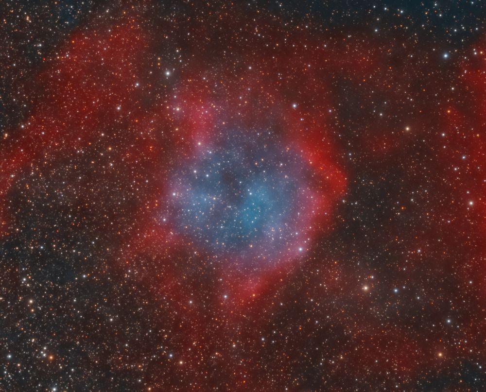 Huet 9, Hu 9, PN G 073.1-03.4 - астрофотография