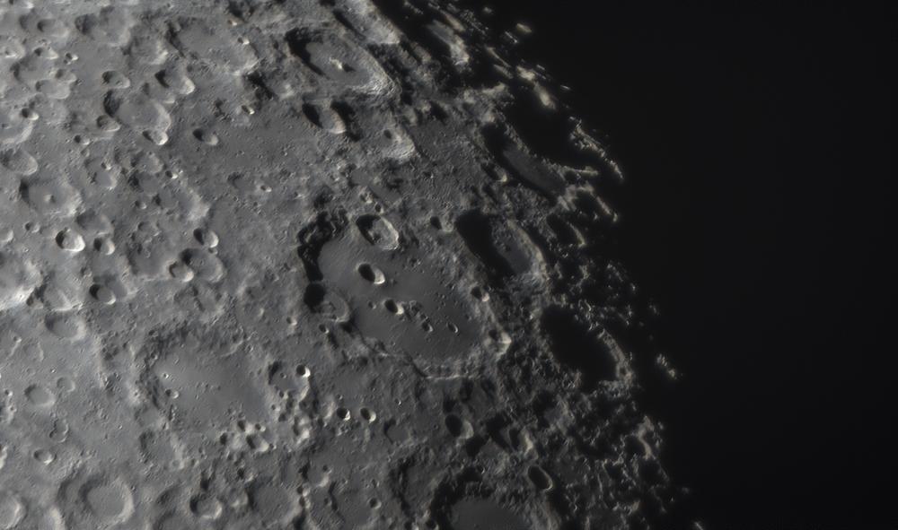 Кратер Клавий. Луна 14.04.2019.