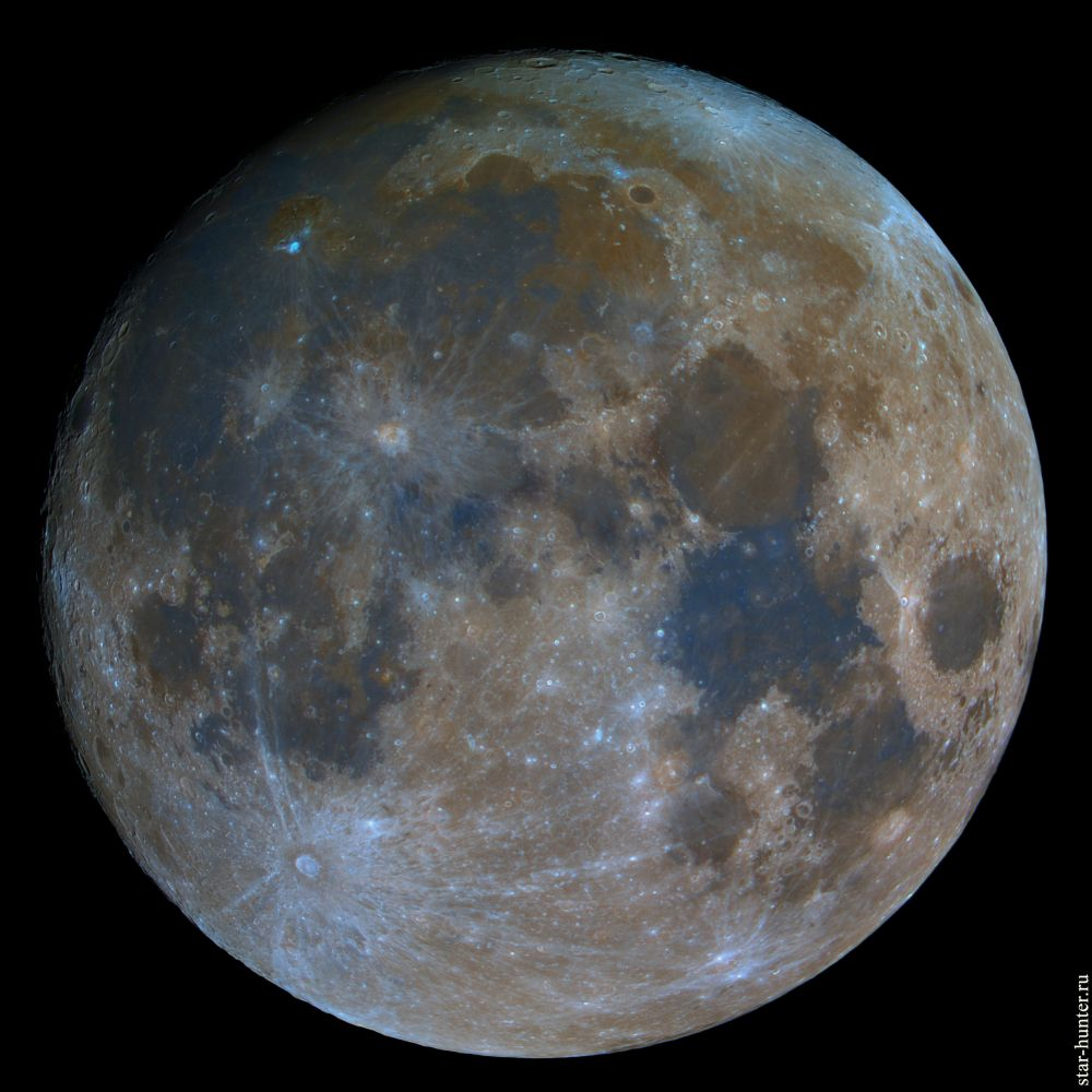 Color Moon, September 13, 2019, 00:20 (UTC +3)