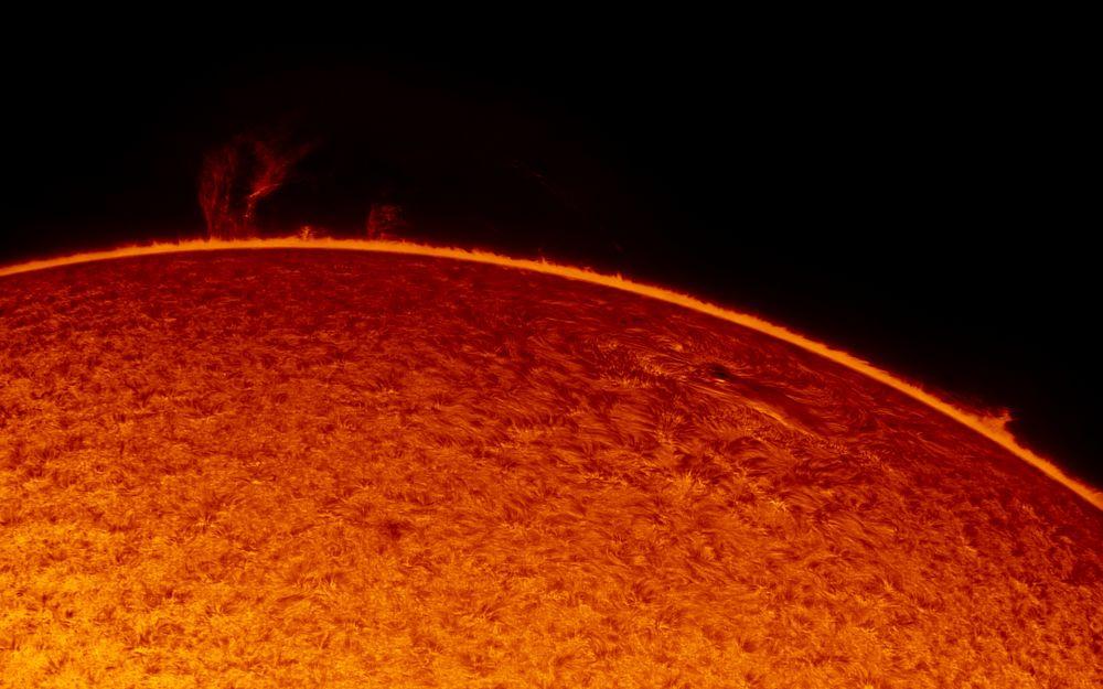2019.05.18 Sun AR12741 H-Alpha
