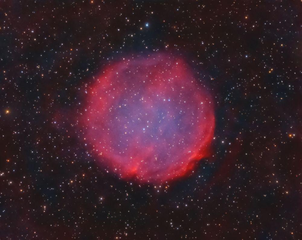 Purgathofer-Weinberger 1, PuWe1 ( PN G 158.9 + 17.8 ) - астрофотография