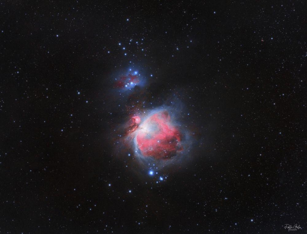 M42 Great orion nebula & running man nebula