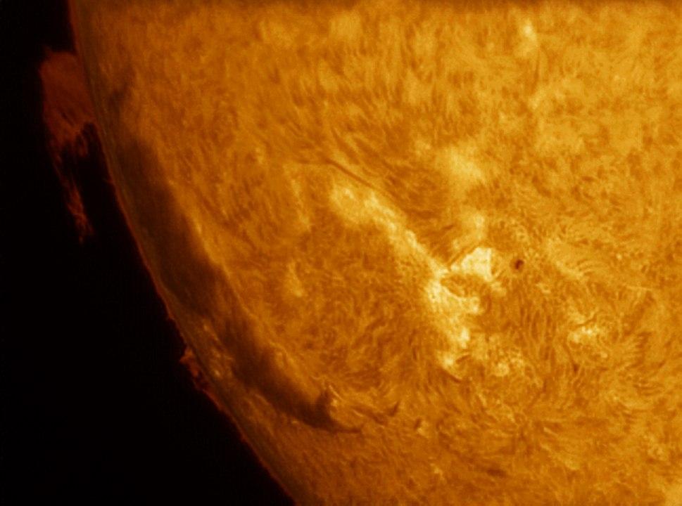 Sun in H-alpha