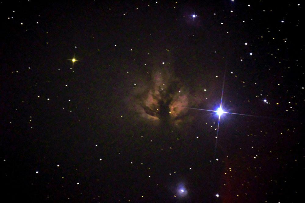 IC 434.ЗВЕЗДА Альнитак