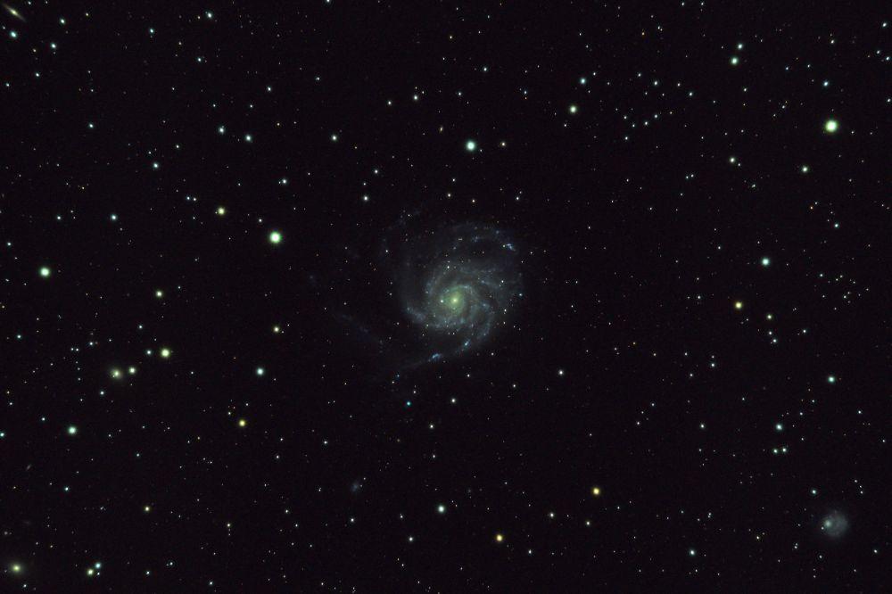 M 101 галактика Вертушка