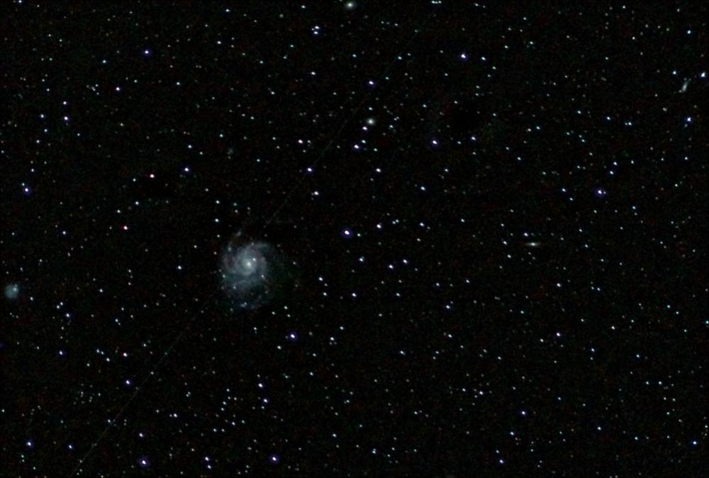 """Галактика """"Вертушка"""" М101. 26.04.20"""