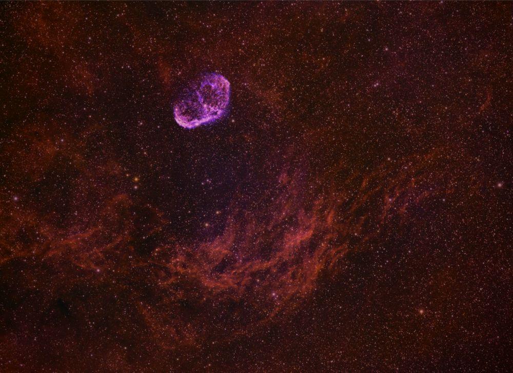 Серп NGC 6888