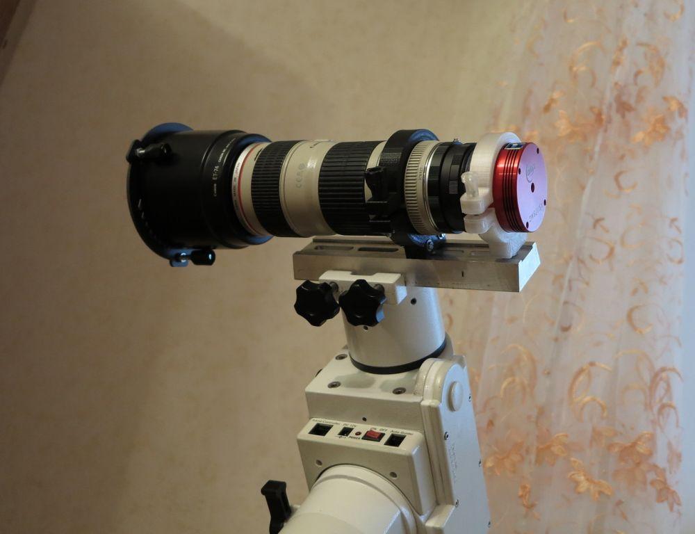 Canon 70-200/4, ASI 178MC