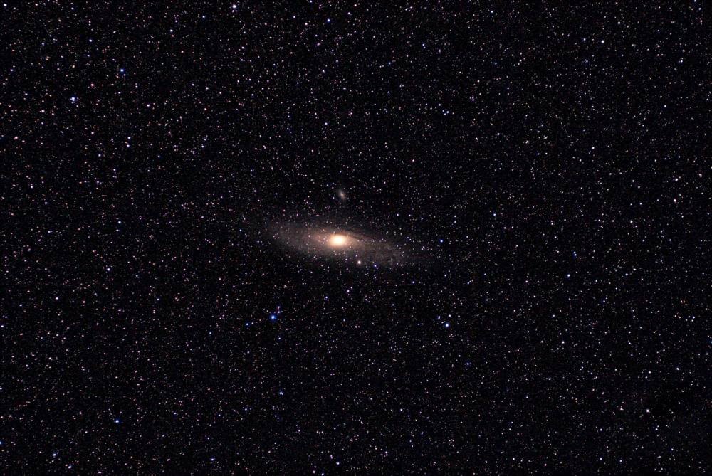 Галактика Андромеда. M31. 15.09.2020