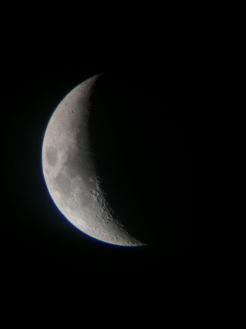 Waxing Crescent - 29.02.2020