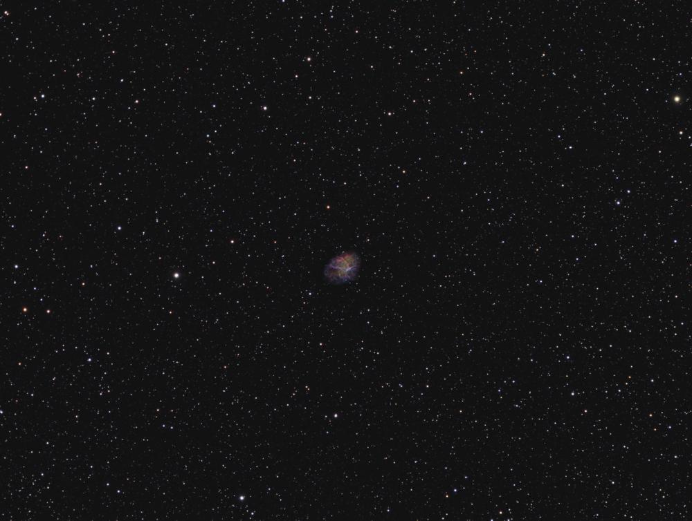 M 1 Crab planetary nebula HORGB