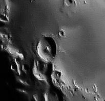 Лунный кратер Теофил