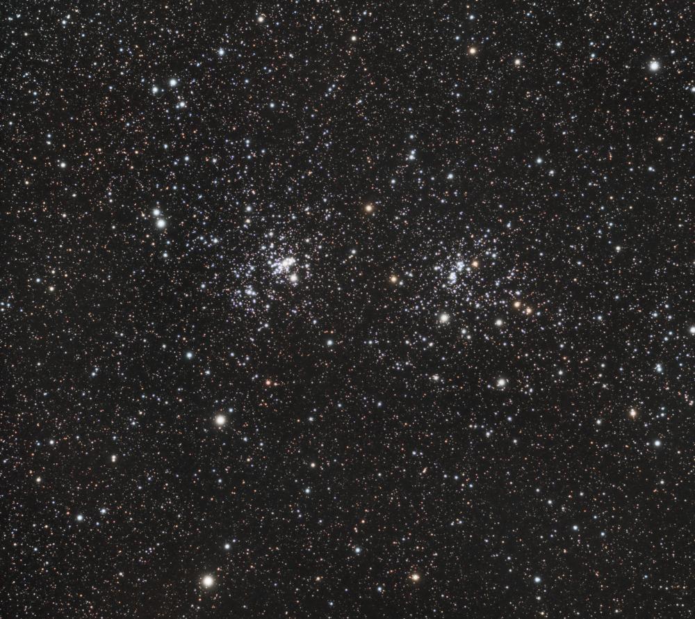 Хи и Аш Персея (NGC 869 & NGC 884)