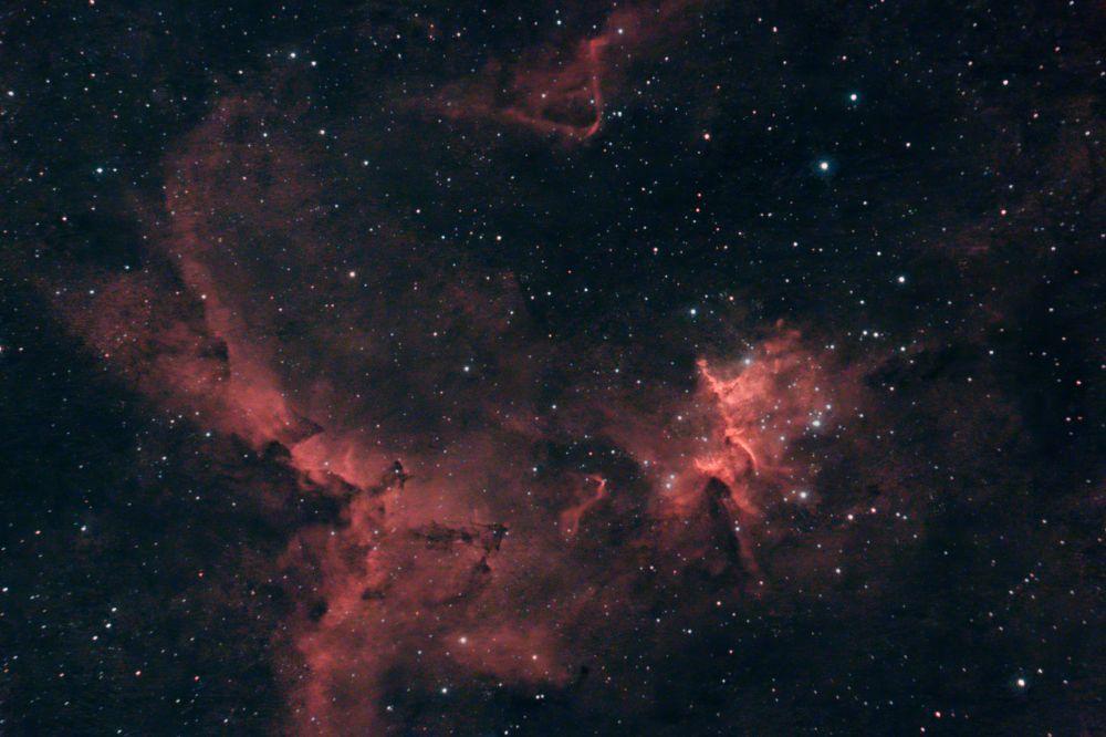 Melotte 15 (центральная часть Сердца IC1805)