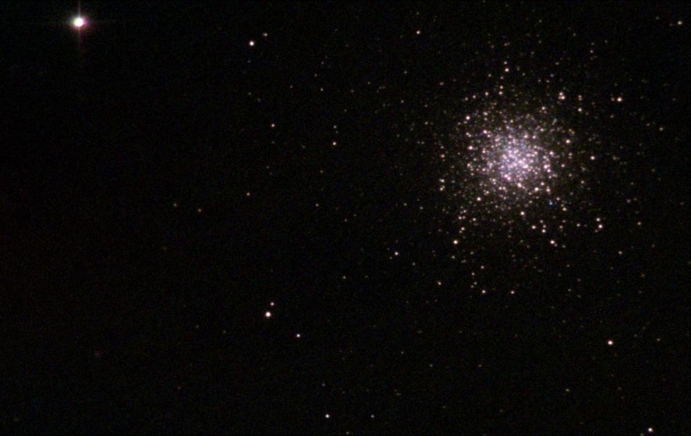 Скопление Геркулеса M 13. 22.08.2020