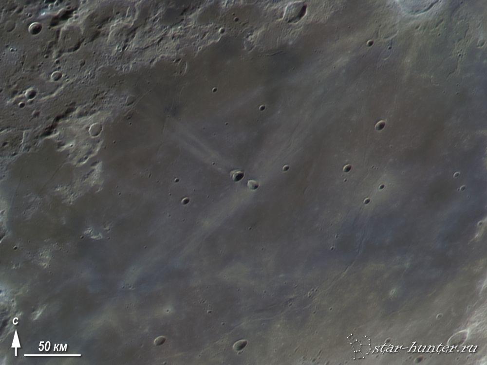Кратер Мессье, 15 января 2016 года, 18:20