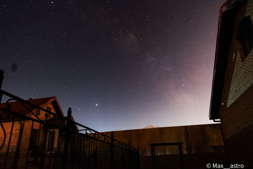 Апрельский Млечный путь
