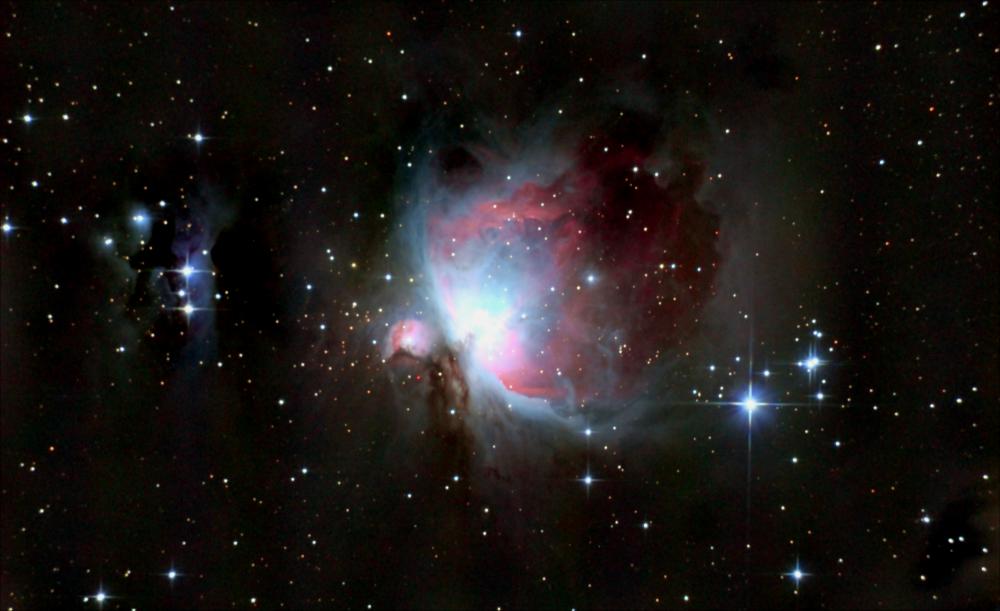 Большая туманность Ориона. 07-12.12.2020