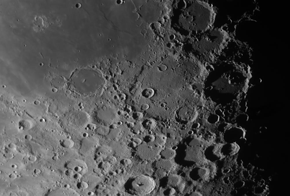 Луна 170716, кратер Деландр