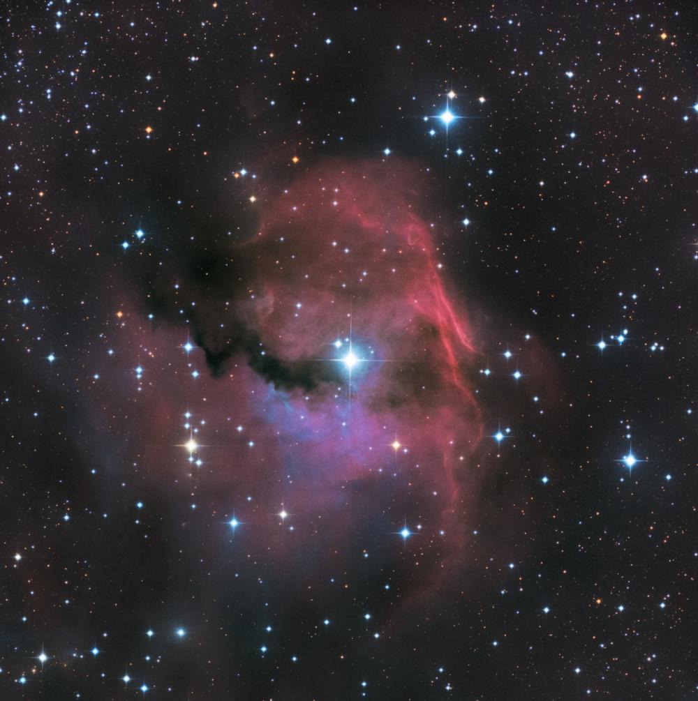 Туманность Голова Чайки - IC 2177