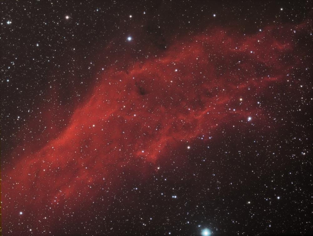NGC 1499 California Nebula HaRGB