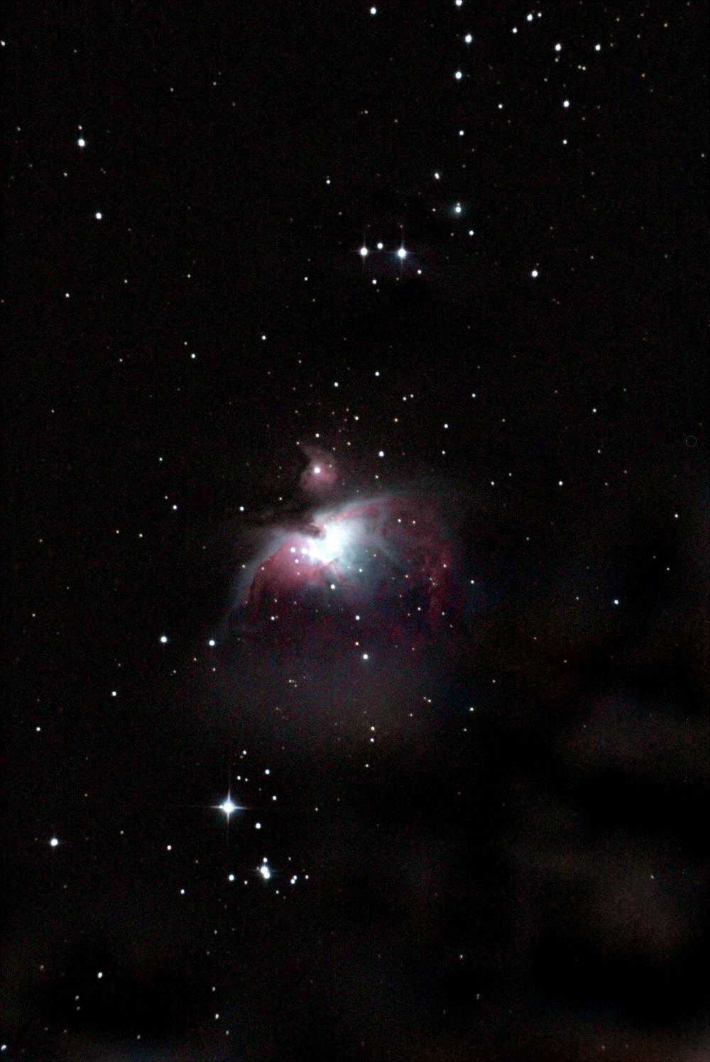 Большая туманность Ориона. 18.11.2020