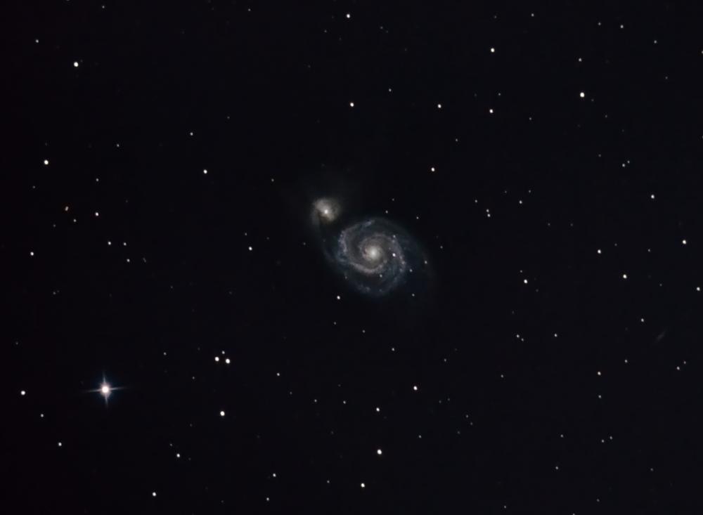 M51 (NGC 5194 & NGC 5195) + 40 min