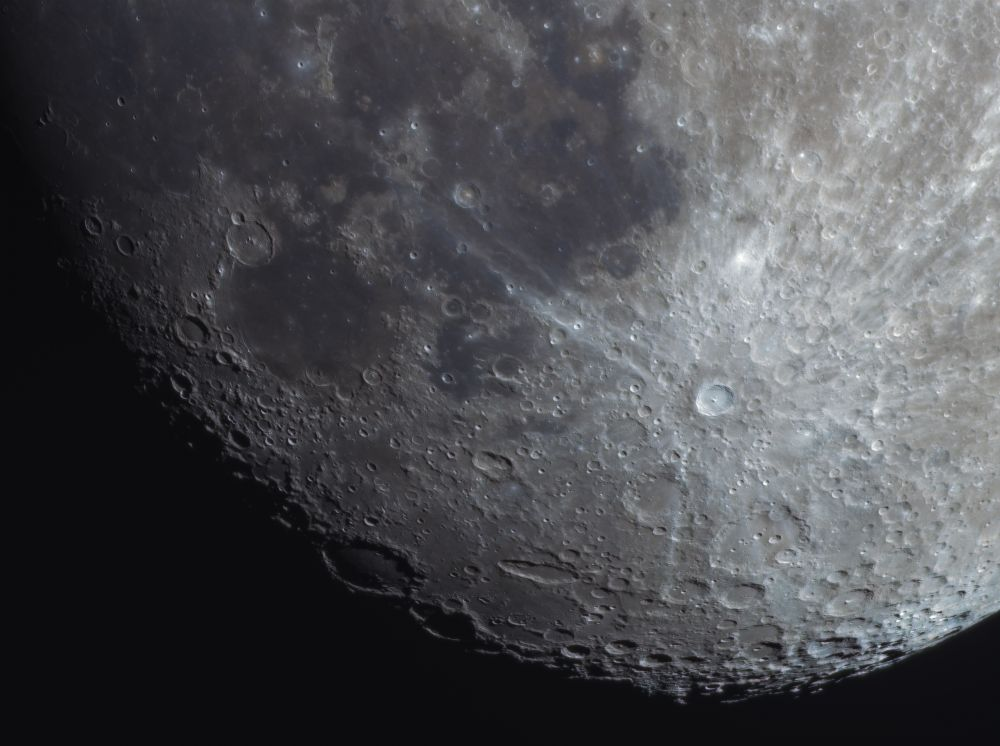 Четверть Луны, RGB