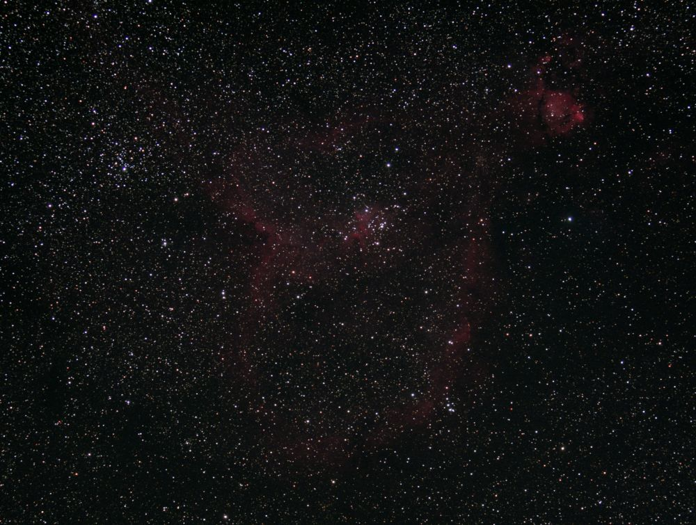 Heart Nebula, IC1805, NGC 896