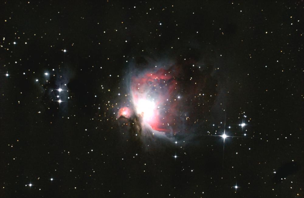 Большая туманность Ориона. 08.12.2020