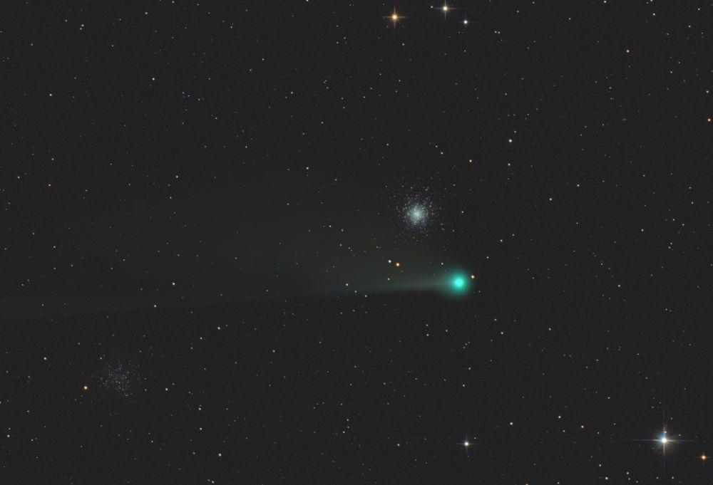 M53 & NGC5053 & Comet C/2020 F3 (NEOWISE)