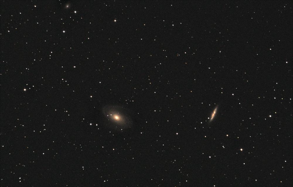 M81, M82 Галактики Бодэ. 21.08.2020