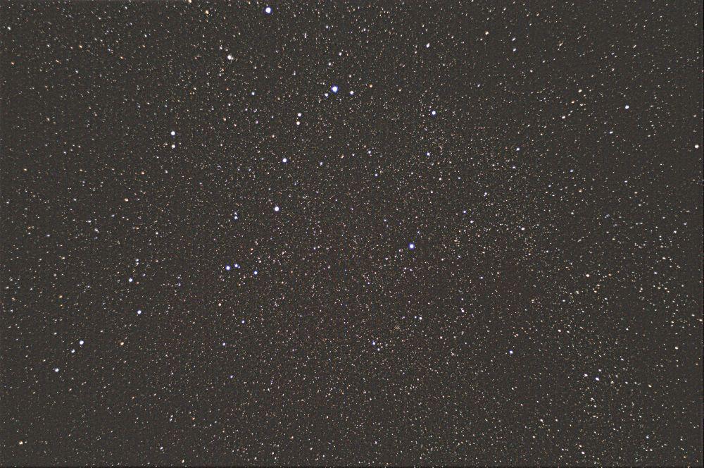 Млечный путь в области Кассиопеи