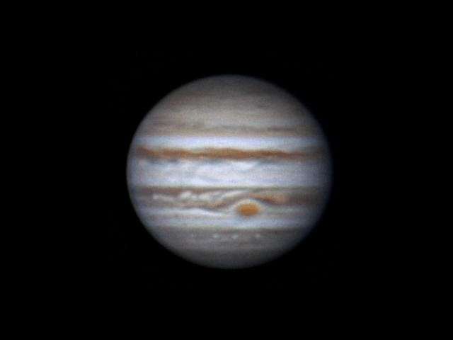 Jupiter, 21 november 2013, 4:04-4:49