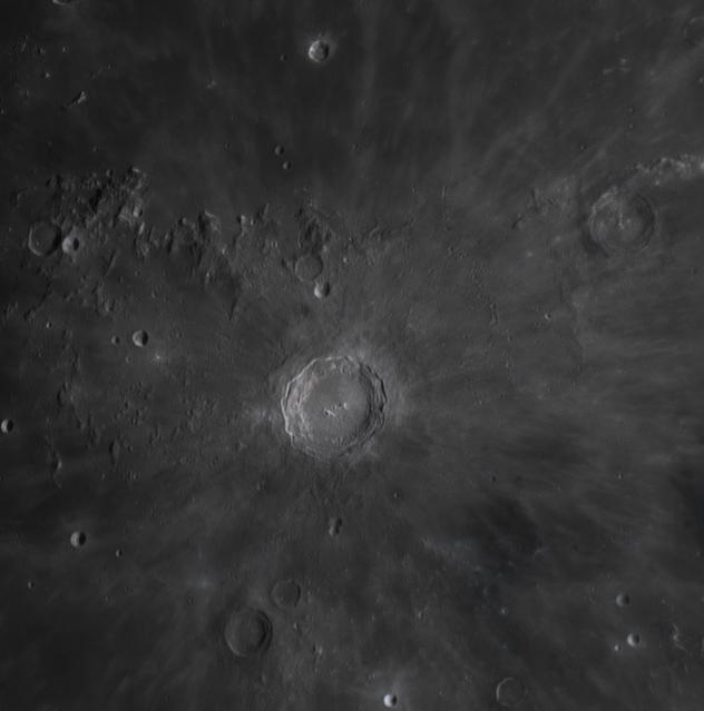 Кратер Коперник и окрестности