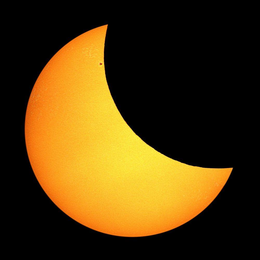 Solar eclipse 20.03.2015