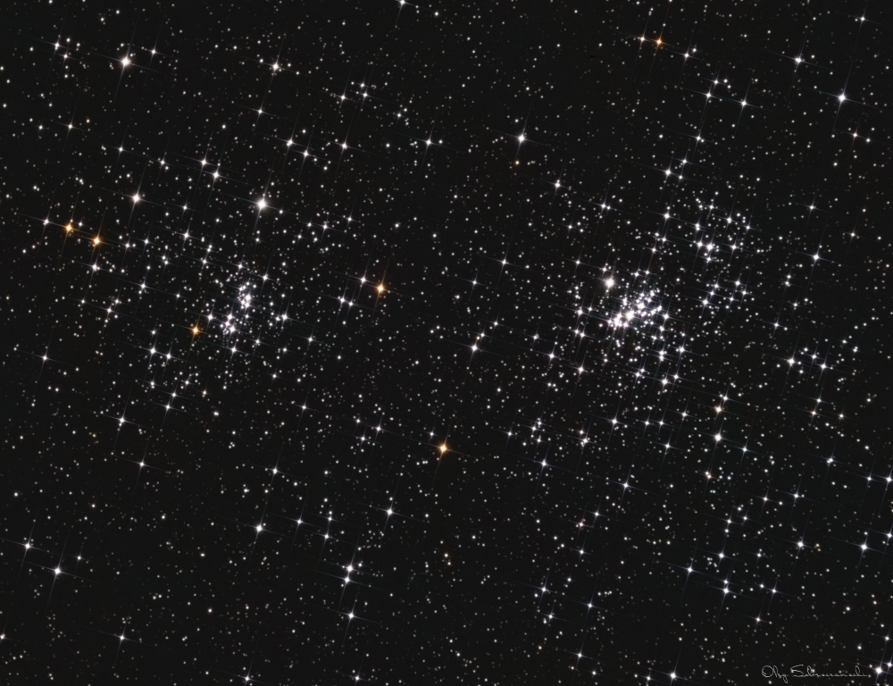 NGC 869 and NGC 884 : Perseus Double Cluster