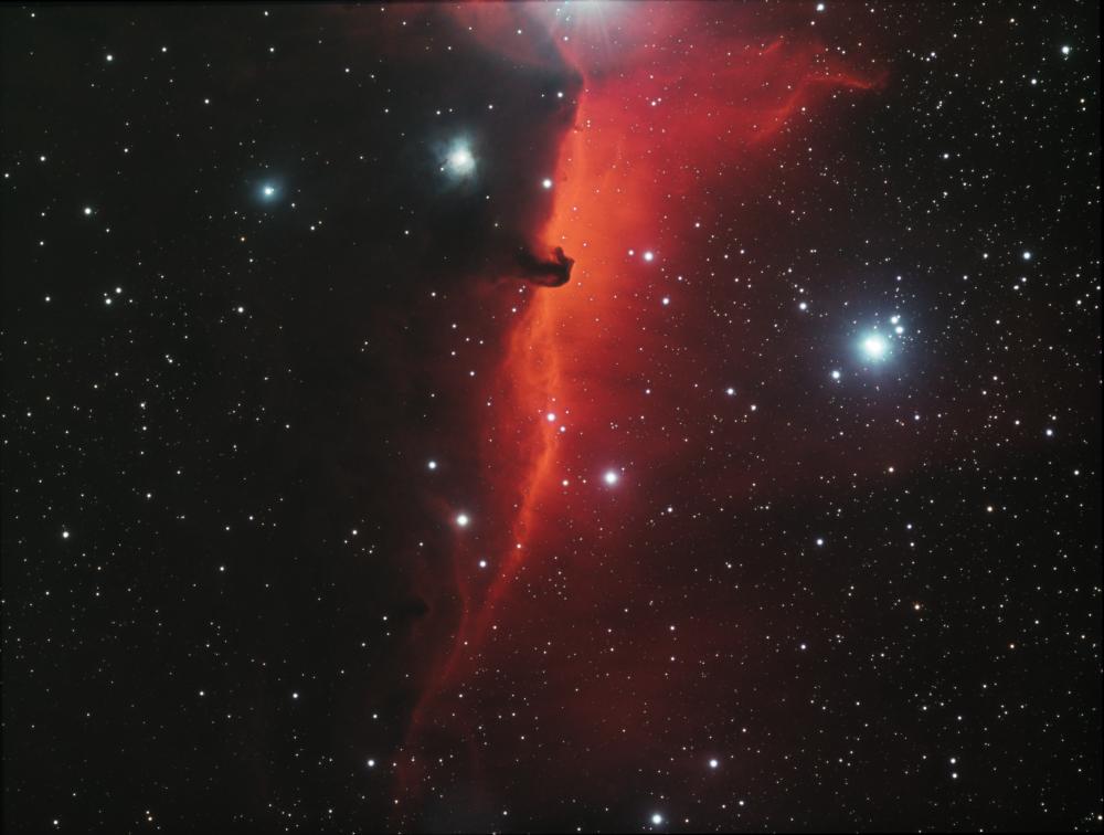 IC 434 HorseHead Nebula HaRGB
