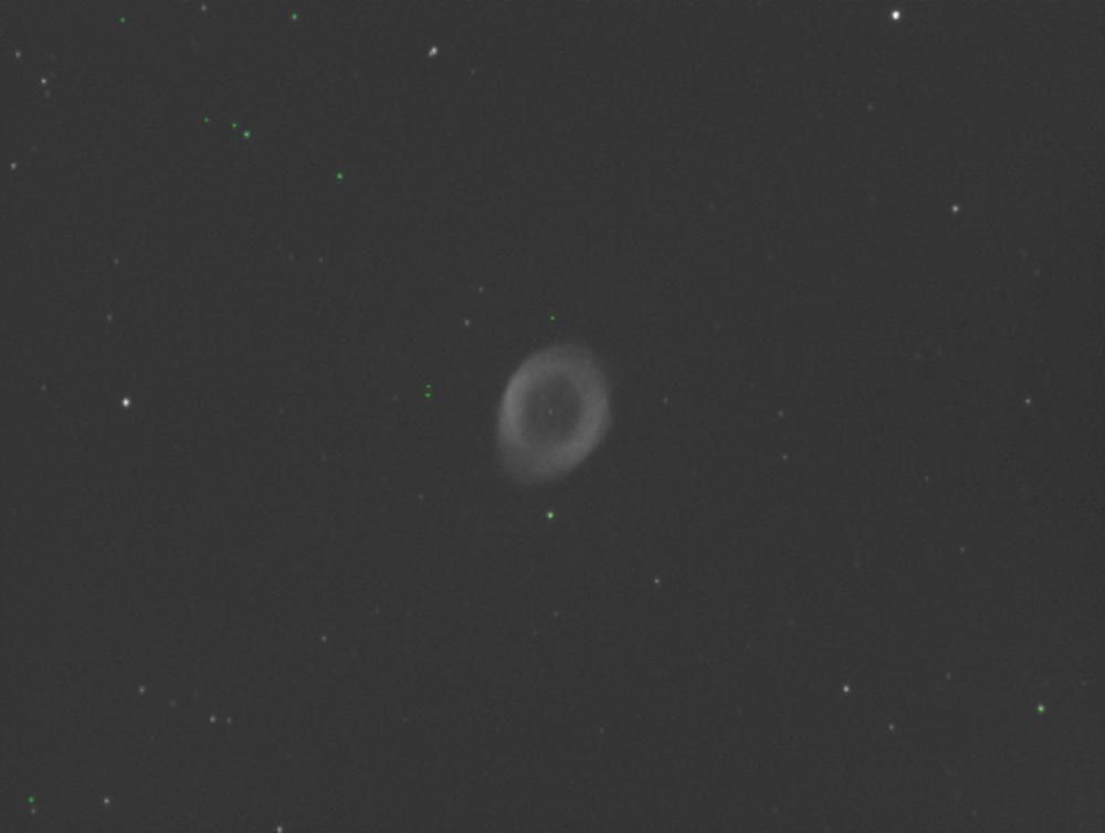 DSS M57 Star Detection problem