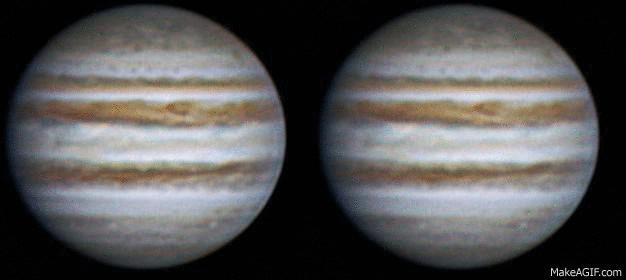 Rotation of Jupiter, 5 feb 2013, 21:38-21:55 (3D parallel)