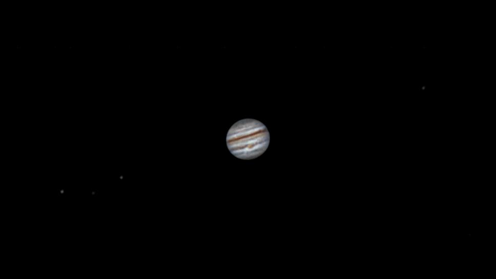 Юпитер с БКП и его спутники. 01.09.2021
